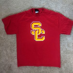 USC Trojans Logo Tee Adult Large